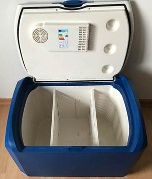 Xcase Kühlbox geöffnet