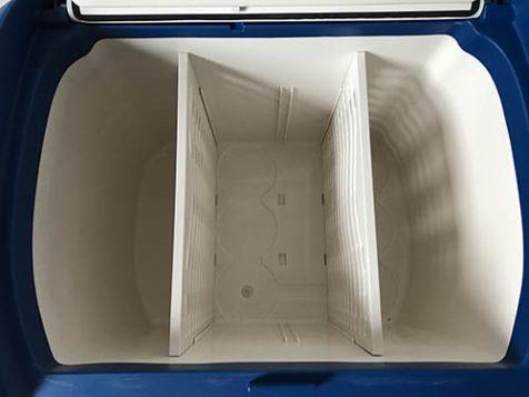 Stauraum der Xcase Kühlbox