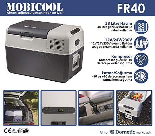 mobicool kompressor k hlbox fr40 shopping ratgeber. Black Bedroom Furniture Sets. Home Design Ideas